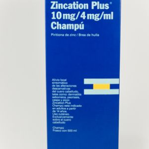 Zincation plus (champu 500 ml)