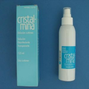 Cristalmina (1% solucion topica 1 frasco 125 ml)