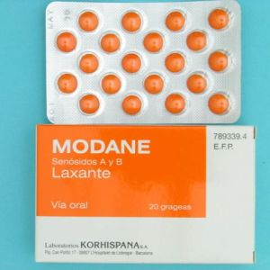 Modane (12 mg 20 grageas)