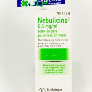 Nebulicina (0.05% nebulizador nasal 10 ml)