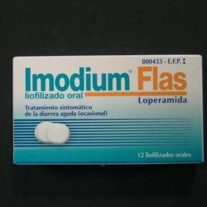 Imodium flas (2 mg 12 liofilizados orales)