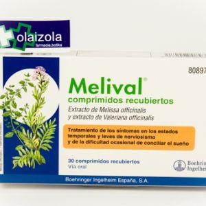 Melival (30 comprimidos recubiertos)