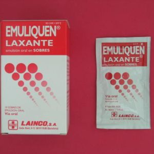Emuliquen laxante (10 sobres emulsion oral 15 ml)