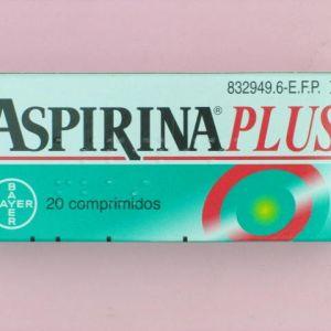 Aspirina plus (500/50 mg 20 comprimidos)