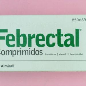 Febrectal (650 mg 20 comprimidos)