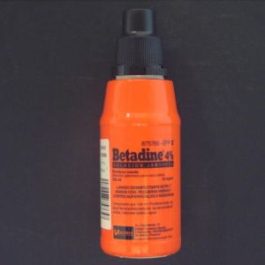 Betadine (4% solucion topica jabonosa 125 ml)