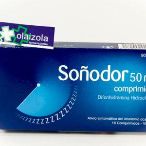 Soñodor (50 mg 16 comprimidos)