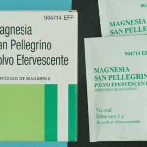 Magnesia san pellegrino (2.245 g 5 sobres efervescentes)