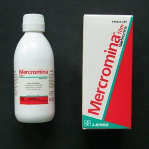 Mercromina film lainco (2% solucion topica 250 ml)