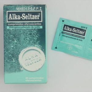 Alka seltzer (20 comprimidos efervescentes)
