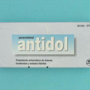 Antidol (500 mg 20 comprimidos recubiertos)