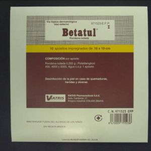 Betatul (250 mg 10 apositos)