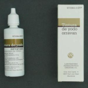 Tintura yodo orravan (solucion topica 40 ml)