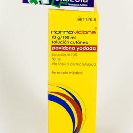 Normovidona (10% solucion topica 50 ml)