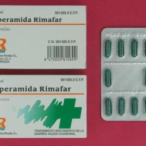 Loperamida rimafar (2 mg 10 capsulas)