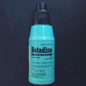 Betadine vaginal (10% solucion topica 125 ml)