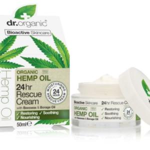Dr. Organic Hemp oil 24 hr Rescue Cream 50ml