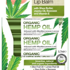 Dr. Organic Hemp Oil Lip Balm 7.5ml