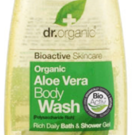 Dr. Organic Aloe Vera Body Wash 250ml