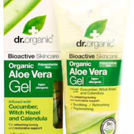 Dr. Organic Aloe Vera Gel with Cucumber, Witch Hazel and Calendula 200ml