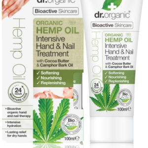 Dr. Organic Hemp Oil Intensive Hand & Nail Treatment 100ml