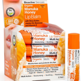 Dr. Organic Manuka Honey Lip Balm 5.7ml