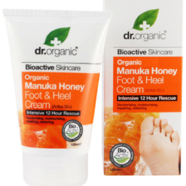 Dr. Organic Manuka Honey Foot & Heel Cream 125ml