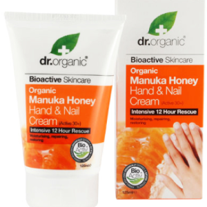 Dr. Organic Manuka Honey Hand & Nail Cream 125ml