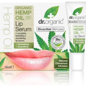 Dr. Organic Hemp Oil Lip Serum 10ml