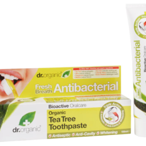 Dr. Organic Tea Tree Toothpaste 100ml