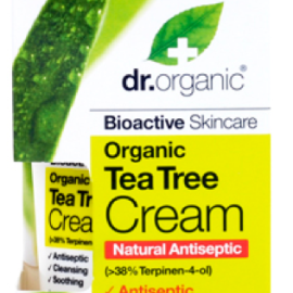 Dr. Organic Tea Tree Antiseptic Cream 50ml