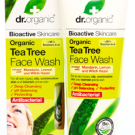 Dr. Organic Tea Tree Face Wash 200ml
