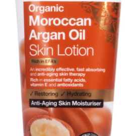 Dr. Organic Moroccan Argán Oil Skin Lotion 200ml