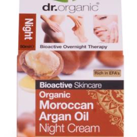 Dr. Organic Moroccan Argán Oil Night Cream 50ml