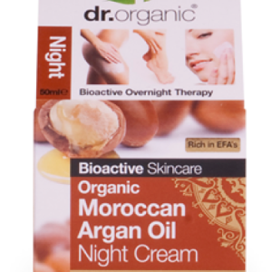 Dr. Organic Moroccan Argán Oil Night Cream 50ml