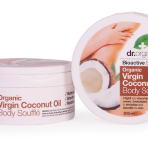 Dr. Organic Virgin Coconut Oil Body Souffle 200ml