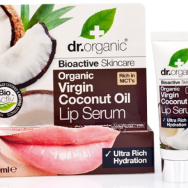 Dr. Organic Virgin Coconut Oil Lip Rescue Serum 10ml