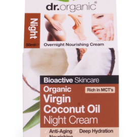 Dr. Organic Virgin Coconut Oil Night Cream 50ml