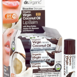 Dr. Organic Virgin Coconut Oil Lip Balm 5.7ml