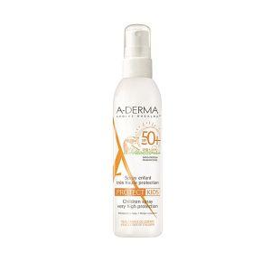 A-Derma Spray niños muy alta protección SPF 50+ 200ml
