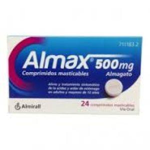 Almax (500 mg 24 comprimidos masticables)