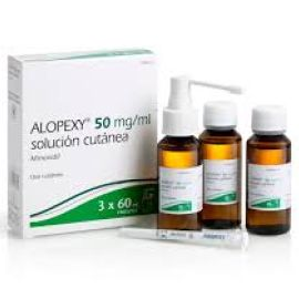 ALOPEXY 50MG/ML SOL CUTANEA 3 X 60ML