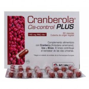 Arkopharma Cranberola cis-control plus 60 cápsulas