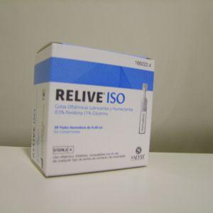 Salvat relive ISO 30 viales monodosis