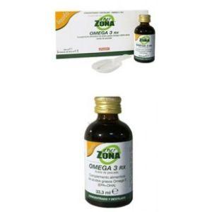 Enerzona Omega 3 Rx líquido (3 frascos 33.3 ml)