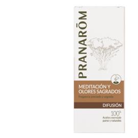 PRANARÒM Meditación y olores sagrados mezcla de Aceites Esenciales para difusor 30 ml
