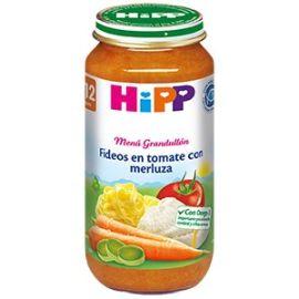 Hipp Biológica Menú Grandullón Fideos en tomate con merluza 250 g