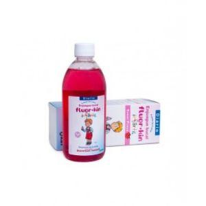 Fluor-kin enjuague bucal sabor fresa 500 ml