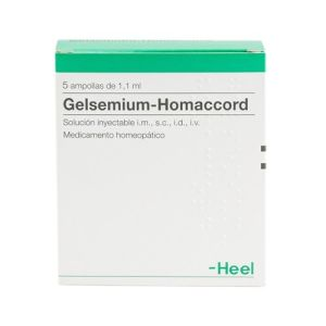 Heel Gelsemium-Homaccord 5 ampollas
