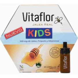 VITAFLOR Jalea Real Kids 10 ml 20 ampollas